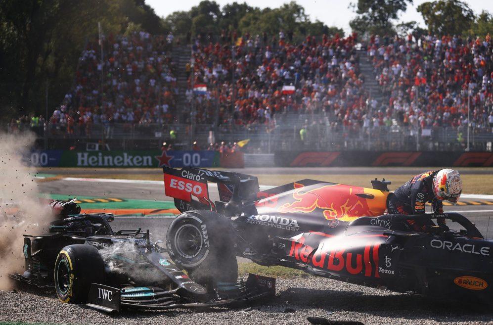 Hamilton, Verstappen, Włochya